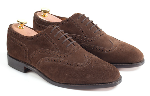 Loake suede shoes (758)
