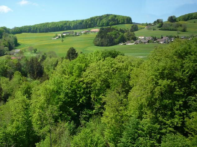 Швейцария - сельская местность