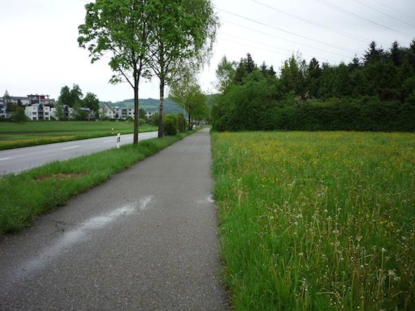 Сельская местность неподалеку от Цюриха