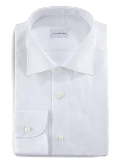 Рубашка Ermenegildo Zegna из королевского оксфорда