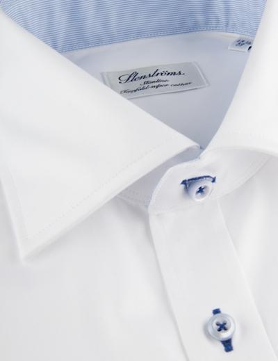 Рубашка с контрастными петлями