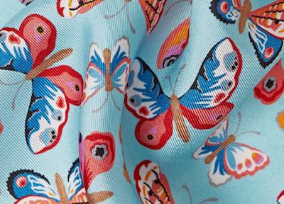 Шелковая саржа - платок Richard James