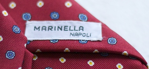 marinella vintage label