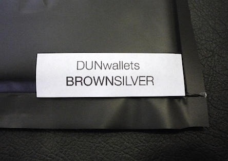 Dun Wallets pack label