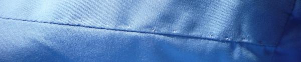 Hand-sewn shoulder