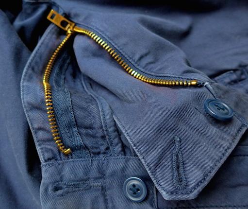 застежка на шортах
