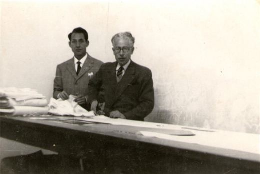 Мануфактура Luigi Borrelli в 1957 году (2)