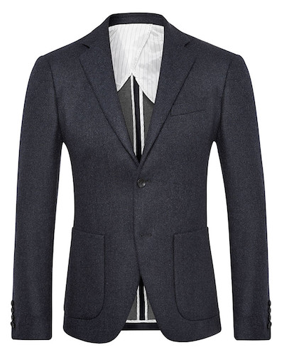 quarter-lined jacket