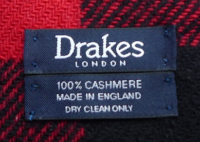 Drakes_scarf_label