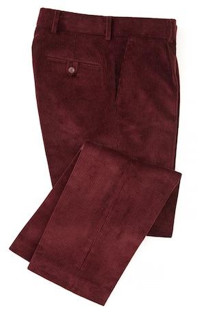 брюки из английского вельвета