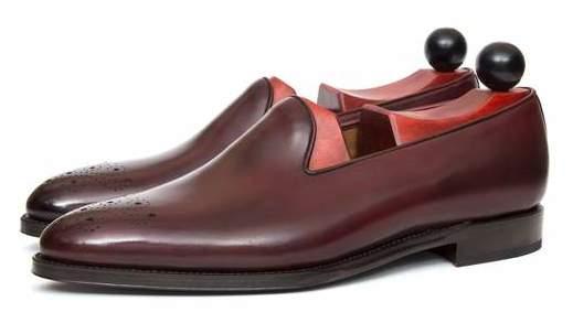 туфли из кожи дубильни La Nuova Antilope
