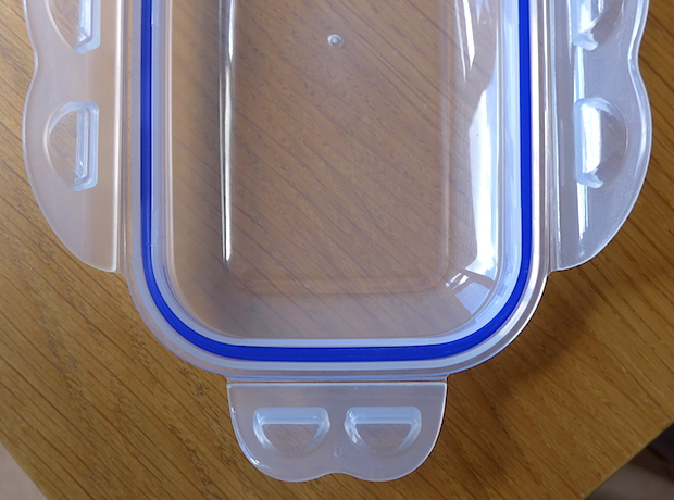 стильный контейнер для еды