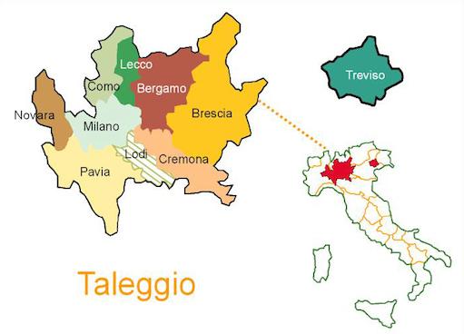 Taleggio-map