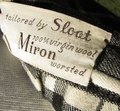 virgin wool label