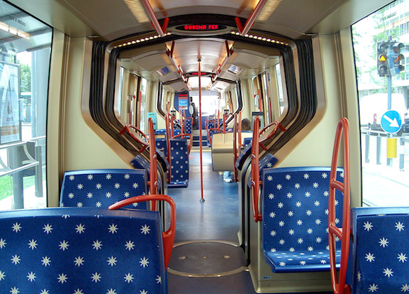 Padova-tram-inside