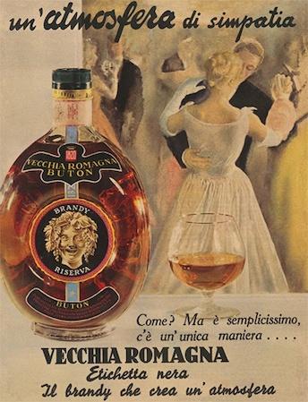 Vecchia Romagna - old ad