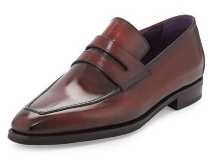 Berluti-burnished