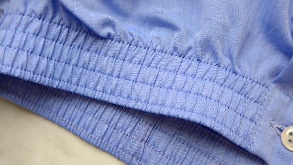 standard boxer shorts waistband