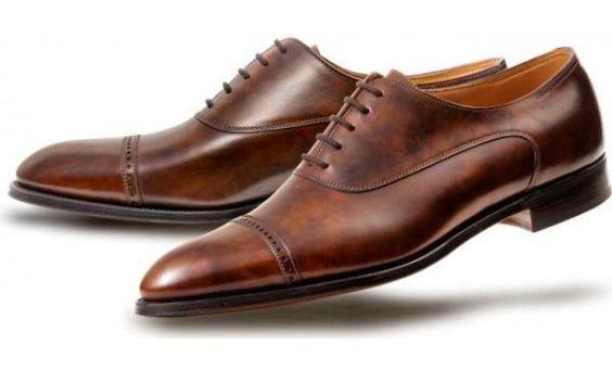 туфли-оксфорды из Англии
