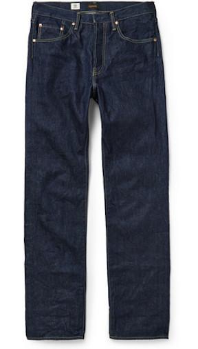 японские базовые джинсы