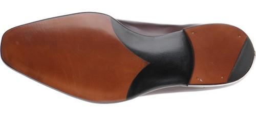 туфли с кожаной подошвой