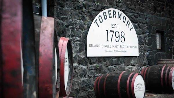 Tobermory-vats