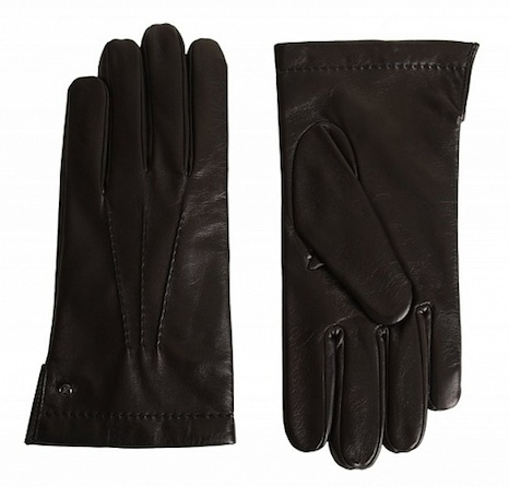 Перчатки Fabi из кожи наппа