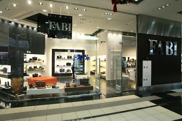 Фирменный магазин Fabi в ТЦ Капитолий