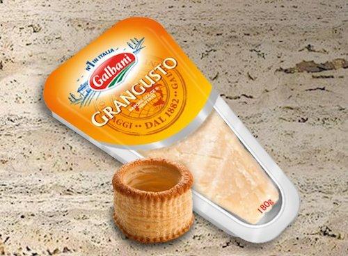 Упаковка сыра Galbani Grangusto