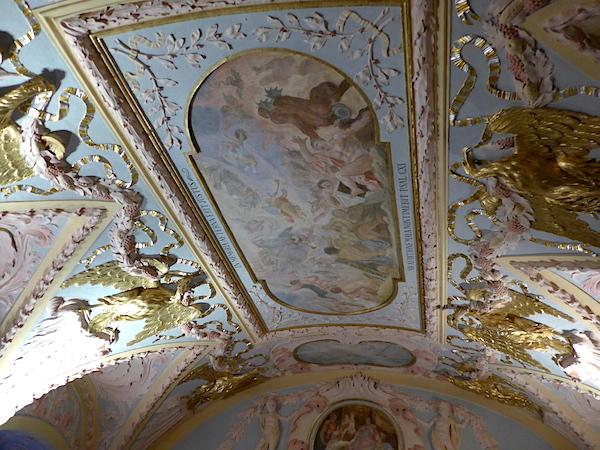 Зал правосудия - потолок