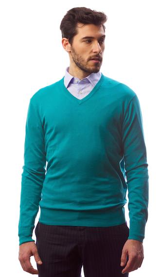 Пуловер Gents' Stuff by Harridge (хлопок с шелком)