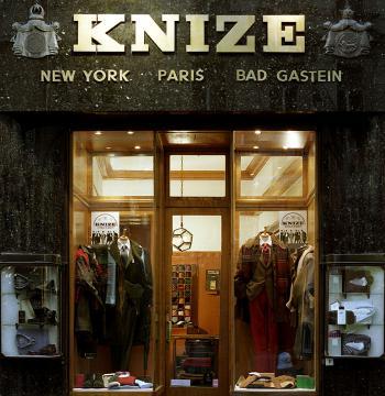 Ателье Knize в Вене