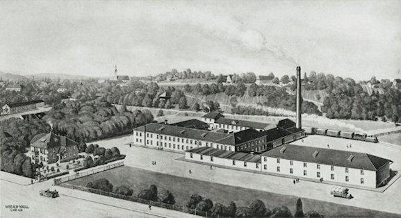 Старая фабрика Ludwig Reiter