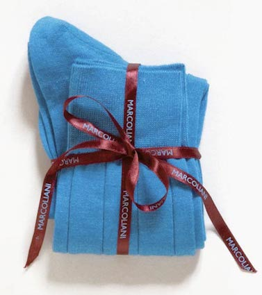 Однотонные носки Marcoliani