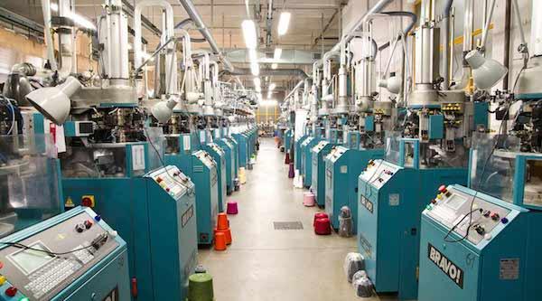 Оборудование на фабрике Marcoliani