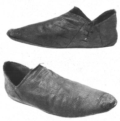Средневековые венгерские туфли