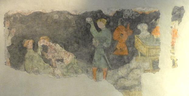 Найдхартские фрески (2)