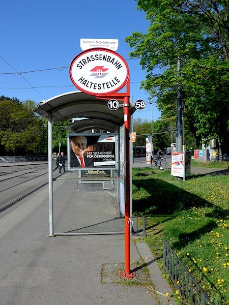 Wien-tram-stop