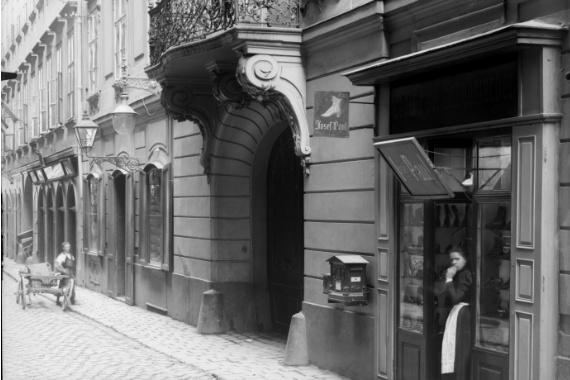 Старая фотография Braunerstrasse