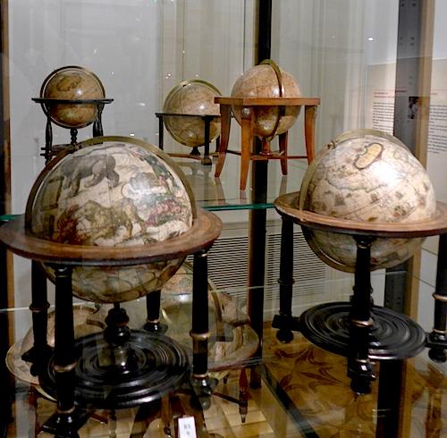 Парные глобусы