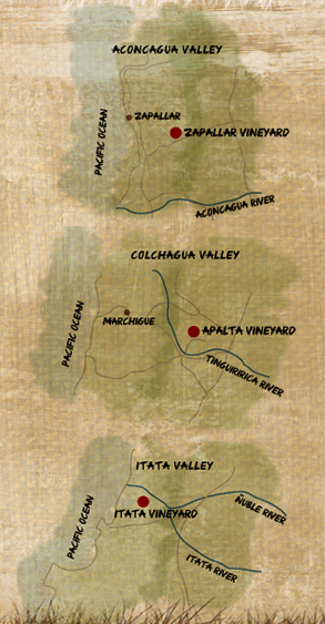 Outer Limits vineyards maps