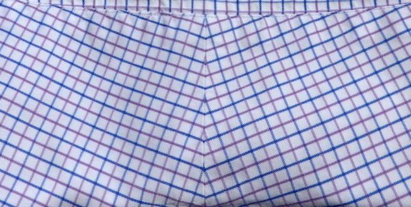 Рубашка на заказ - кокетка