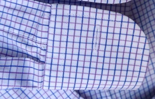 Рубашка на заказ - фрагмент