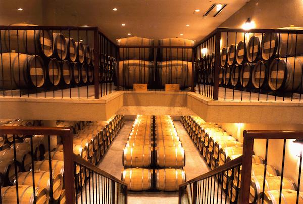 Chateau Rieussec cellar