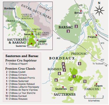 Sauternes-map