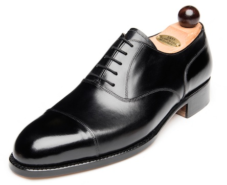 Vass black oxfords