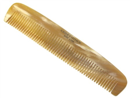 Abbeyhorn branded comb
