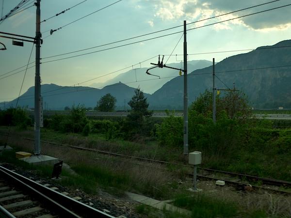 Железная дорога в Трентино