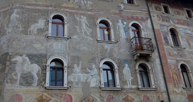 Trento-frescoes