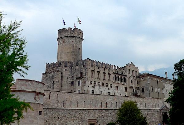Тренто - замок Буонконсильо